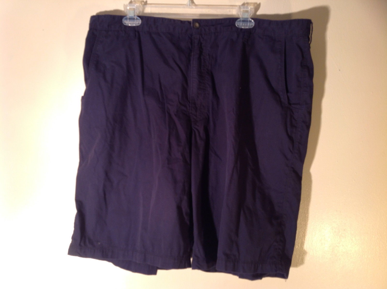 Dark Blue 100 Percent Cotton Woolrich Shorts Size 42 Excellent Condition