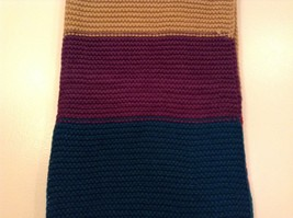 Classic bold broad Stripes in color choice bulk warm circle infinity scarf image 6