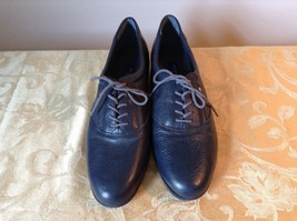Dark Blue Easy Spirit Anti Gravity Shoes E S Motion Leather Upper Balance
