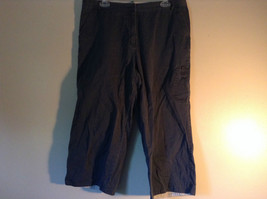 Dark Blue Northeast Outfitters Size 14 Capris image 1