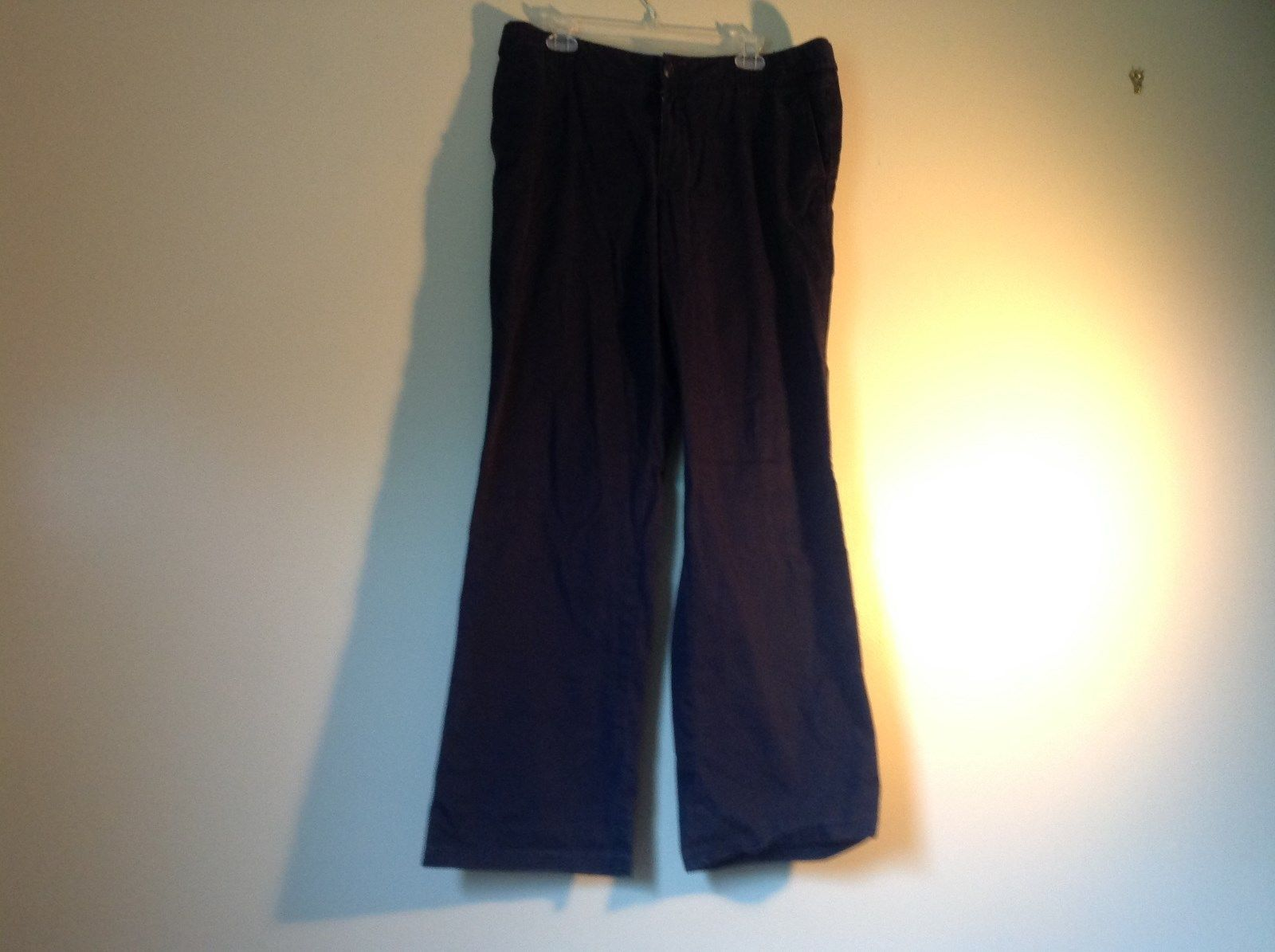 Dark Blue Casual Eddie Bauer Size 14 Outdoors Specialty Vashion Fit Pants