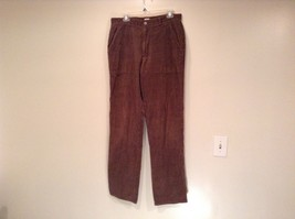Dark Brown Corduroy Jeans Calvin Klein Jeans 100 Percent Cotton No Size Tag