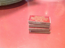Collection of matchboxes from Treasure Chest Poughkeepsie at IBM golf club image 2