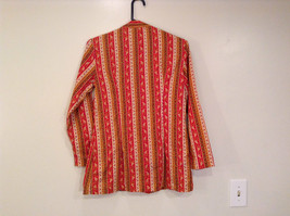 Couture Size 34 Long Sleeve Fun Shirt with Ringing Bells Front Closure image 2