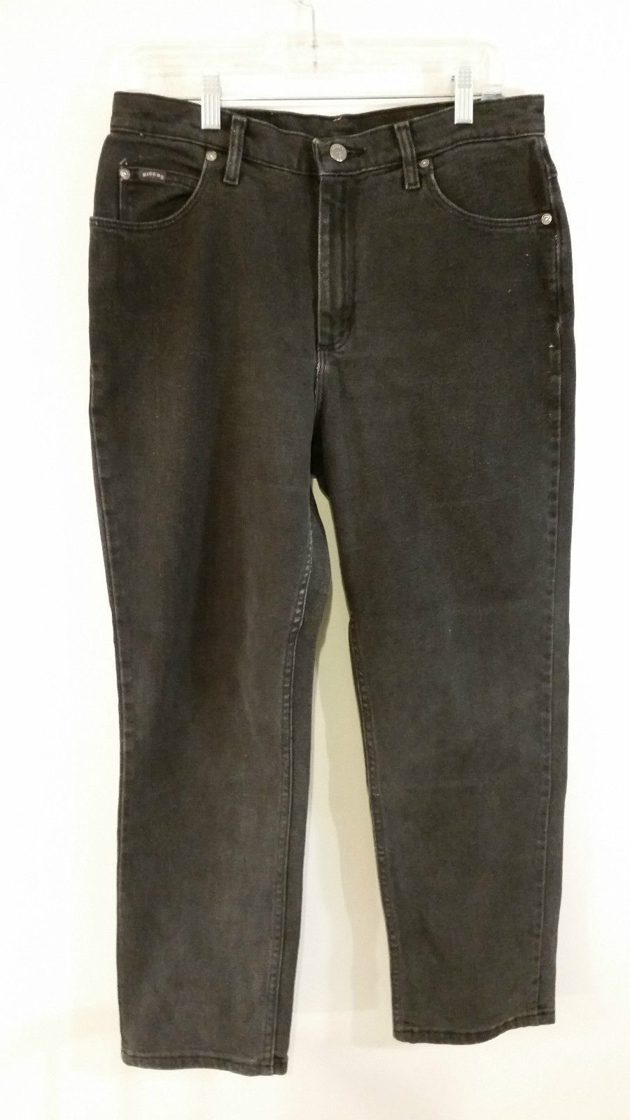 Dark Gray Jeans by Riders Good Condition Front and Back Pockets Size 12P