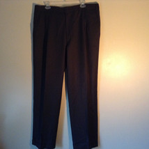 Dark Gray Dress Pants by Kirland 100 Percent Wool Made in Italy Size 38