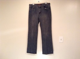 Dark Gray Jeans Bogari Jeans Size 12 by 31 to 32 Embroidery Back Pockets