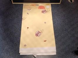 Cotton kitchen Towel Santa Less Egg More Nogg  USA made image 4