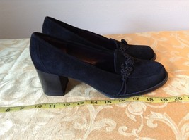Covington Closed Toe Black Heels Size 9M image 3
