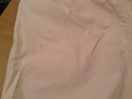 Cream 100 Percent Cotton Chicos Wear Anywhere Shorts One Size Elastic Waist image 9