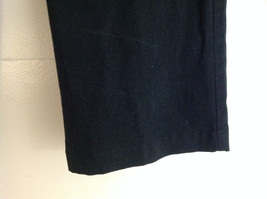 Croft & Barrow Stretch Black Suede Feeling Work Dress Pants Size 16 image 4