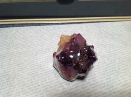 Crystal Gemstone Soap Amethyst Handmade Purple Yellow Red image 5