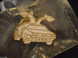 Delorean E. R. Run 4 Car Pin image 1