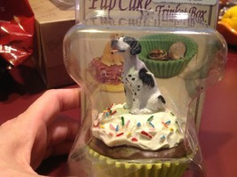 Cupcake gift box with choice of Specific Dog Breed Letters J to S Topper image 10