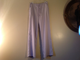 Denim Company Size Medium Light Purple Sweat Pants Elastic Waist String Tie