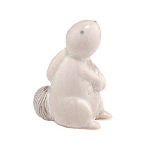Department 56 Forest Lane baby bunny rabbit in white ceramic