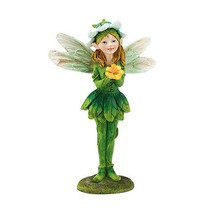 Department 56 Garden Guardian Fiona the Fair Figurine wFlower in her Hand