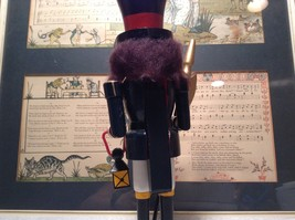 Cute Vintage Nutcracker Soldier Holding Axe and Lantern image 6