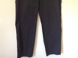 Dark Blue Light Wear Thin Casual Pants by PRADA Made in Italy Size 44 image 3