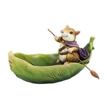 Department 56 Garden Guardians Mouse in Leaf Boat Butterfly Bath - $44.55