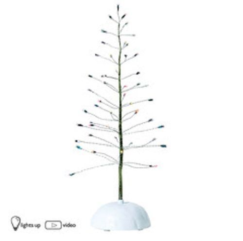 Department 56 Light Up Twinkle Brite Tree Accessory w plug size small