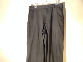 DOCKERS Premium Khaki Gray Flat Front Relaxed Fit Dress Pants Size 34 by 30 image 2