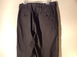 DOCKERS Premium Khaki Gray Flat Front Relaxed Fit Dress Pants Size 34 by 30 image 4