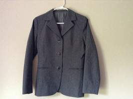 Elegant Gray Jacket and Pant Suit Inside Lining Front Pockets NO TAG image 1