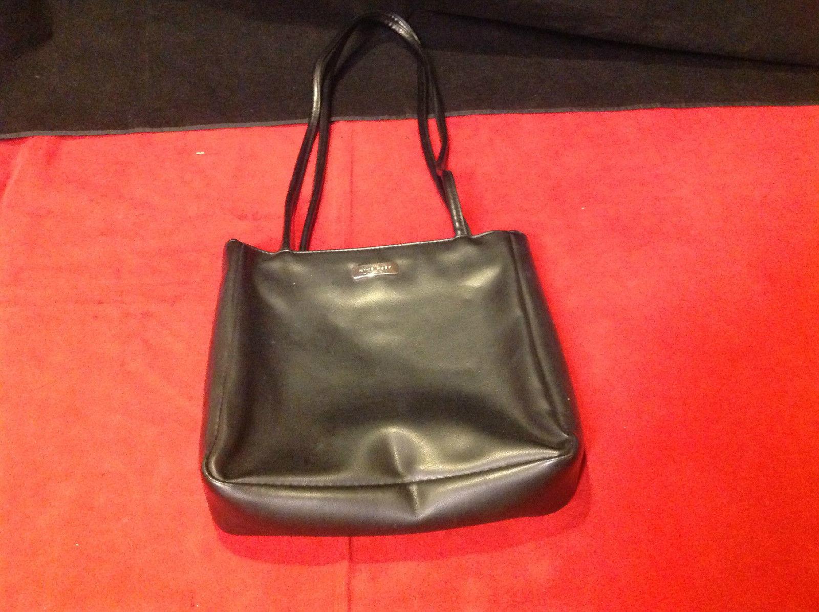 Elegant Nine West Black Colored Handbag