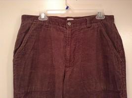 Dark Brown Corduroy Jeans Calvin Klein Jeans 100 Percent Cotton No Size Tag image 2