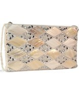 Diamond Burst  Clutch with Mother of Pearl  NEW - $19.79