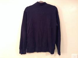 Dark Navy Long Sleeve Sweatshirt Athl Dept Size Large 10 to12 Letter C Captain image 3