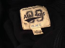 Dark Navy Long Sleeve Sweatshirt Athl Dept Size Large 10 to12 Letter C Captain image 6