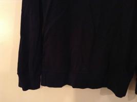Dark Navy Long Sleeve Sweatshirt Athl Dept Size Large 10 to12 Letter C Captain image 5
