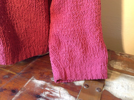 Dark Pink Long Sleeve Zip Up Dressbarn Sweater Very Soft and Comfortable image 4