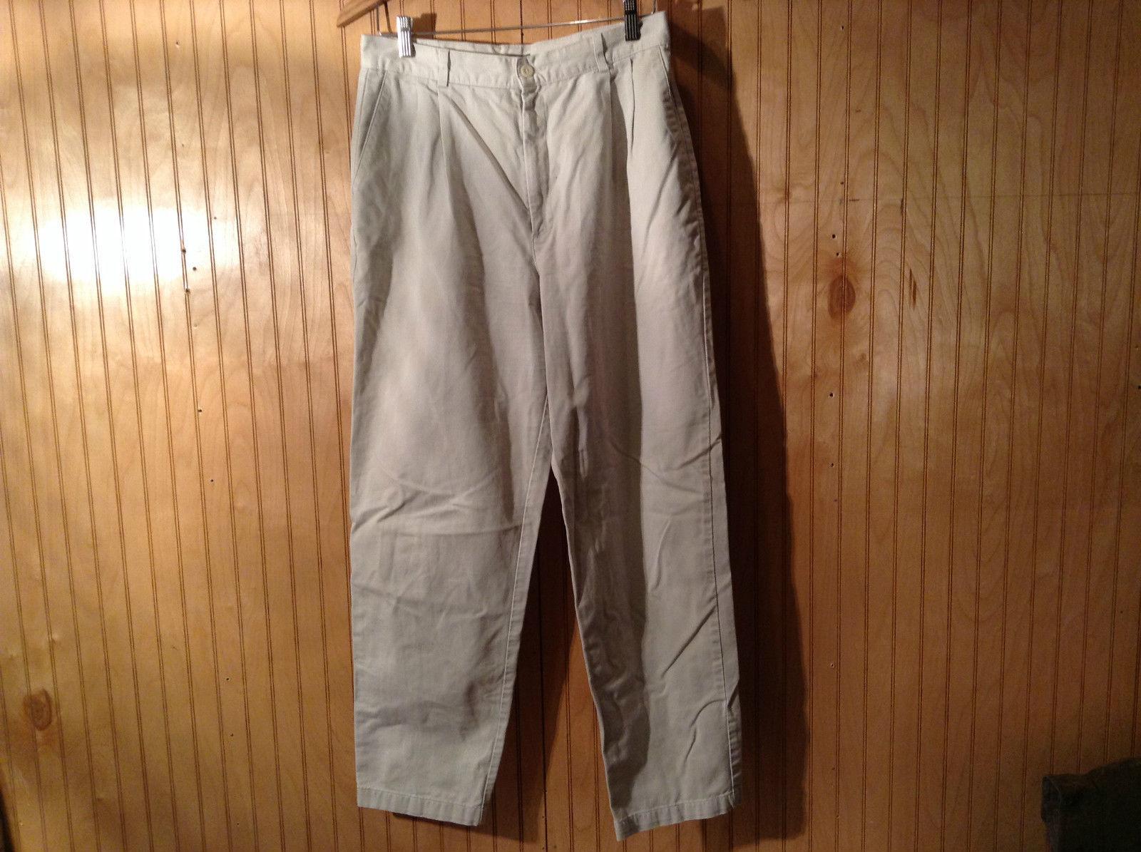 Dockers Classic Khakis Casual Pants Zipper Button Closure Size 12 Medium