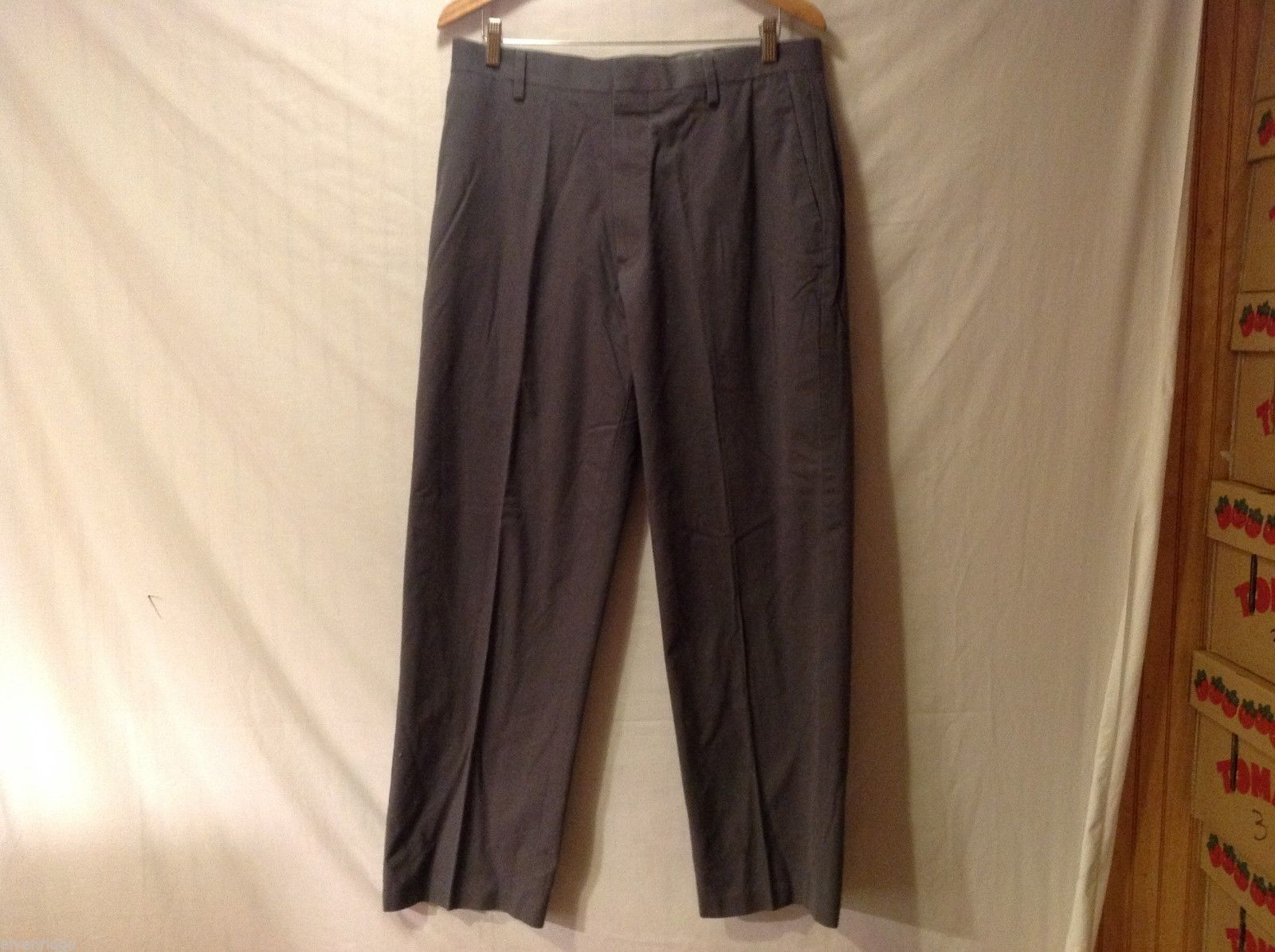 Dockers Mens Gray Pants, Size 34X30