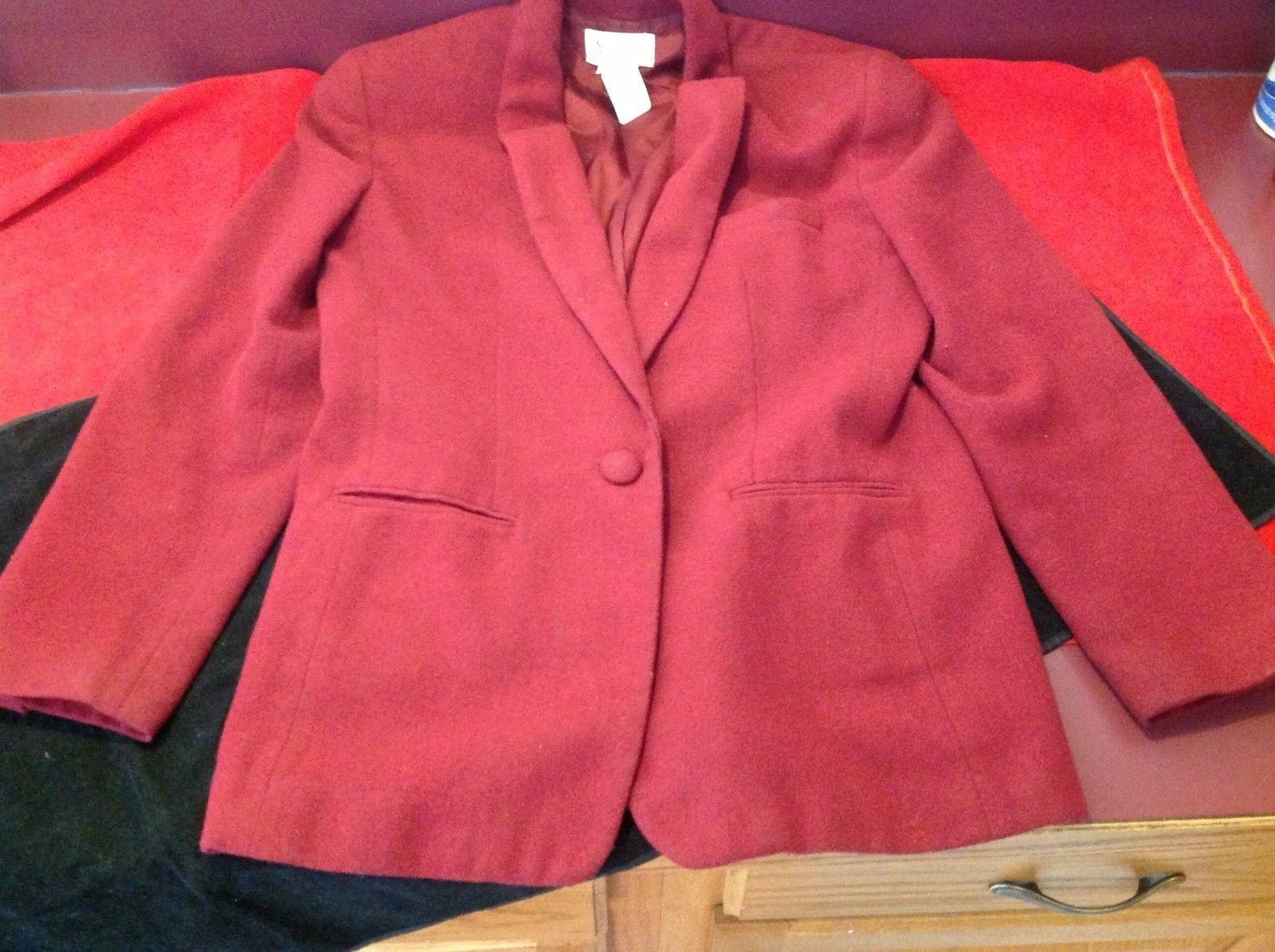 Dominica republic Autograph Women's Red blazer size 9 to 10