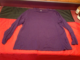 Dressbarn Long Sleeve Ladies Purple Top Size 14 to 16
