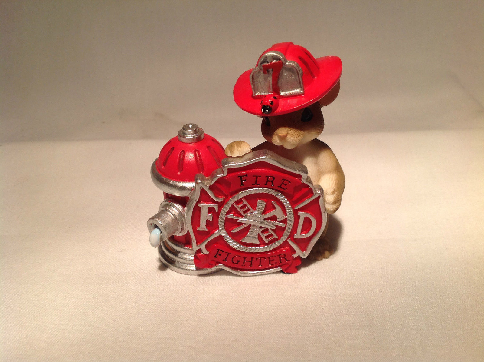 Fire Fighter Mouse Charming Tails You're The First One There When Things Heat Up
