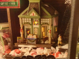 Department 56 New England Village Nantucket Christmas taffy Making a New Friend image 2