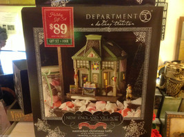 Department 56 New England Village Nantucket Christmas taffy Making a New Friend image 3