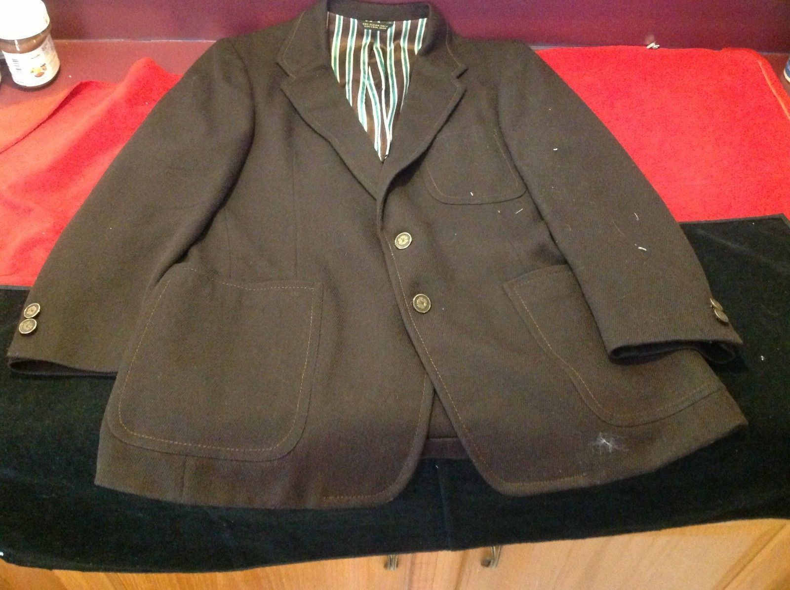 Eagle clothes man's brown blazer 22 in wide 30 in long B&B Lorry's