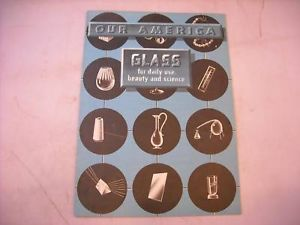 Educational Booklet Our America Glass by Coca Cola 1944