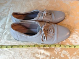 Easy Spirit Anti Gravity Shoes Light Brown E S Motion Leather Upper Balance image 2