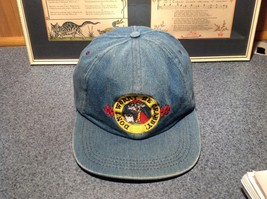 Don't Worry Be Crabby Blue Denim Cap Adjustable Size Maxine image 2