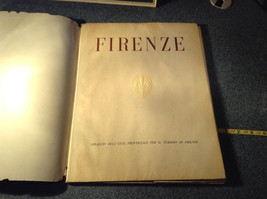 Eight Large Print Firenze Portfolio Prints are in Excellent Condition
