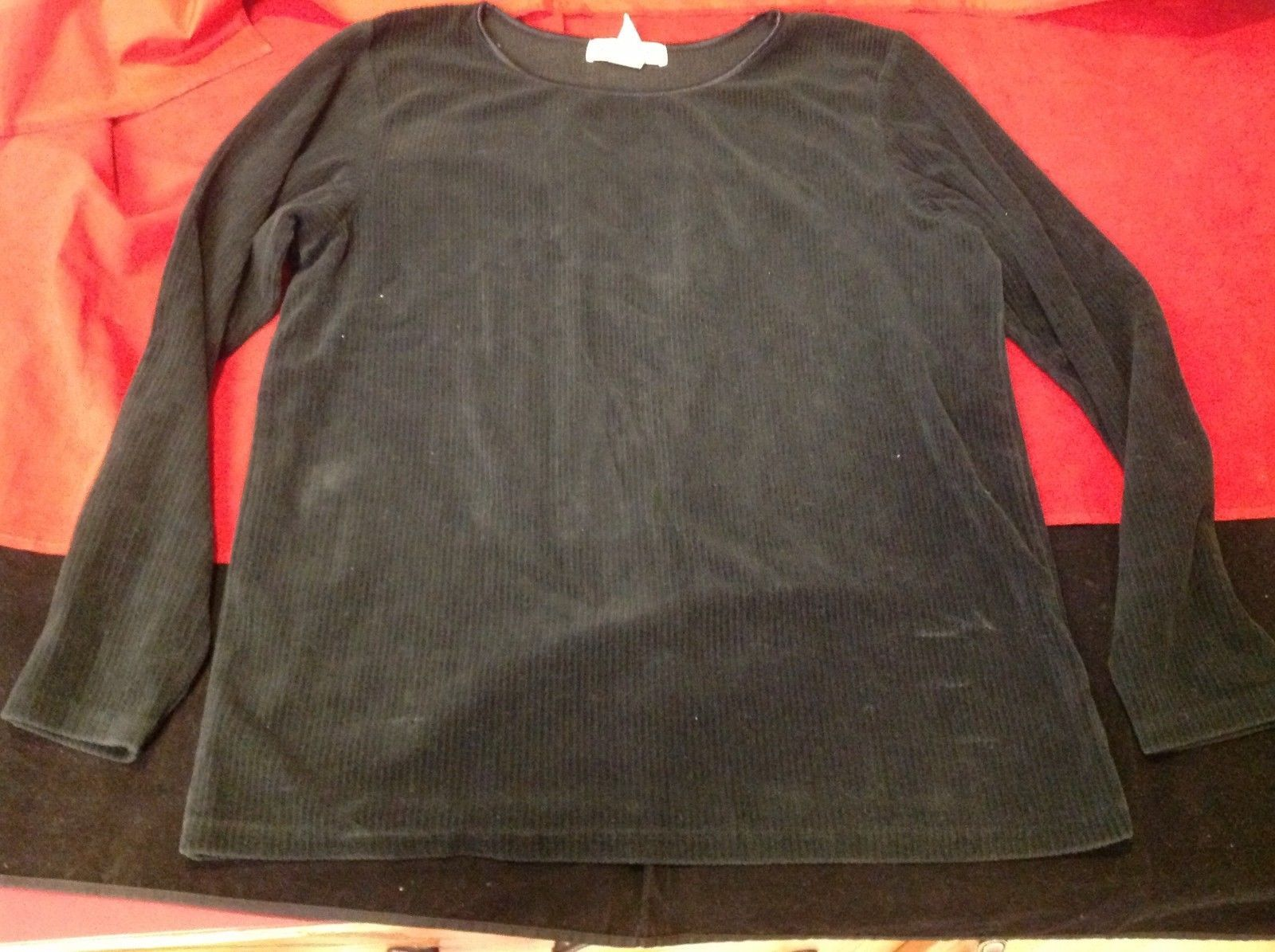 Eddie Bauer sweater women's size xs color black