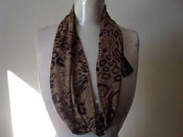Elegant Leopard Print Fashion Infinity Scarf from The Magic Scarf Company