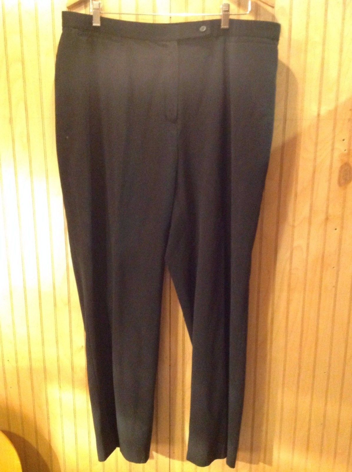 Focus 2000 Woman Black Slacks Size 20W